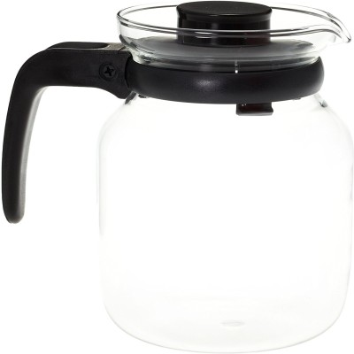 BOROSIL Carafe with Strainer in Lid Water Jug(1.2 L)