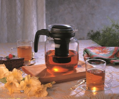 Borosil Carafe With Normal Strainer Kettle Jug