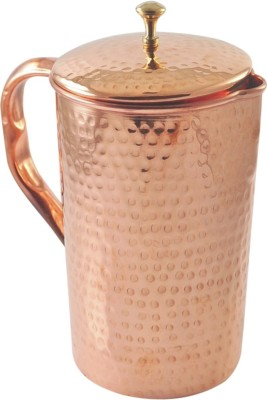 Veda Home & Lifestyle COPPER HAMMERED JUG 2 L Water Jug