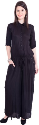 Tuntuk Solid Women's Jumpsuit
