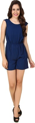 Fame16 Solid Women's Jumpsuit at flipkart