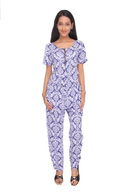 Deesha Printed Womens Jumpsuit