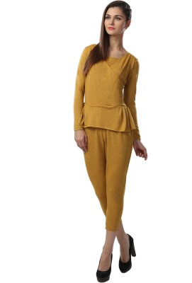 Glam & Luxe Solid Women's Jumpsuit
