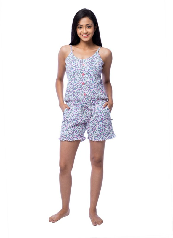 Nite Flite Printed Women's Jumpsuit