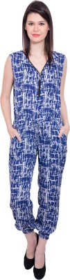 Tuntuk Graphic Print Womens Jumpsuit