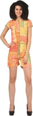 Atulya Geometric Print Women's Jumpsuit at flipkart