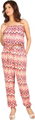 Tong Striped Women's Jumpsuit