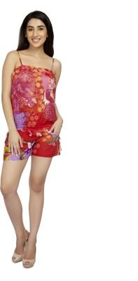 True Fashion Polka Print Women's Jumpsuit