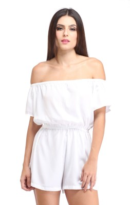 Amirich Solid Women's Jumpsuit at flipkart