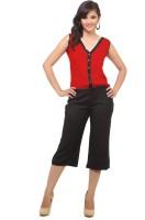 Cottinfab Self Design Women's Jumpsuit
