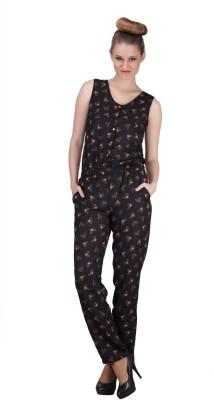 Sierra Floral Print Women's Jumpsuit