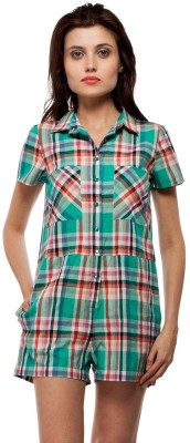 Orous Checkered Women's Jumpsuit