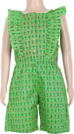 Estyle Printed Girls Jumpsuit