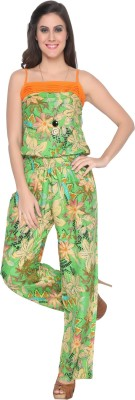 AnM Fashion Floral Print Women's Jumpsuit