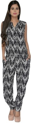 Fashionwardrobe Geometric Print Women's Jumpsuit