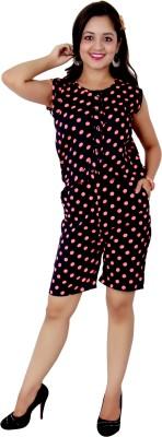 Kamakshi Krafts Polka Print Women's Jumpsuit