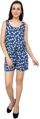 99Hunts Printed Women's Jumpsuit