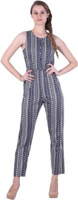 Bonhomie Self Design Women's Jumpsuit