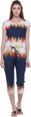 TAB91 Geometric Print Women's Jumpsuit