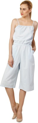 Oxolloxo Solid Women's Jumpsuit at flipkart