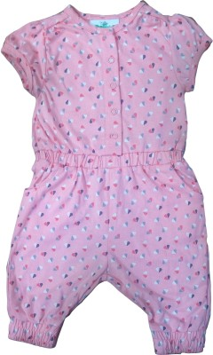 Instyle Printed Baby Girl's Jumpsuit