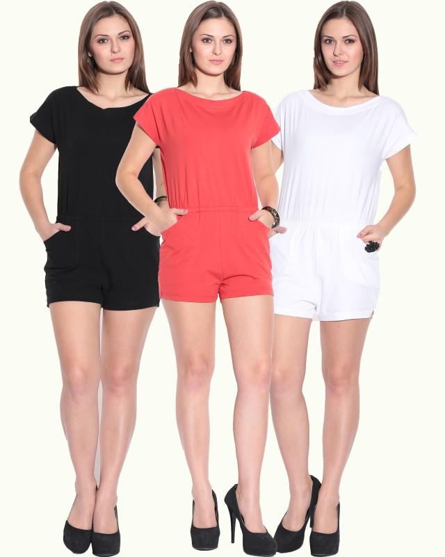 Finesse Solid Women's Jumpsuit