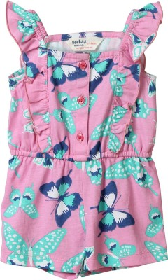 Beebay Printed Girls Jumpsuit