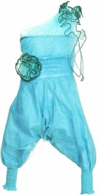 Lil Poppets Solid Girl's Jumpsuit