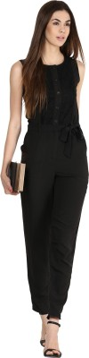 Athena Solid Women's Jumpsuit at flipkart