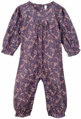 Oye Printed Baby Girl's Jumpsuit