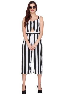 Closet Drama Striped Women's Jumpsuit