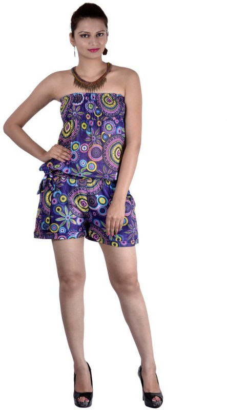 Indi Bargain Geometric Print Women's Jumpsuit