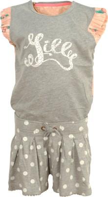 Bella Moda Printed Girl's Jumpsuit