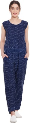 Diachic Polka Print Women's Jumpsuit at flipkart