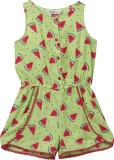 Beebay Printed Girl's Jumpsuit
