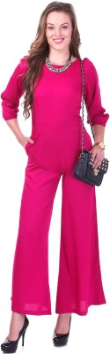Sassafras Solid Womens Jumpsuit