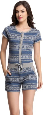 Clovia Printed Women's Jumpsuit at flipkart