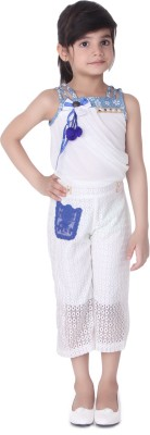 Tiny Toon Woven Girl's Jumpsuit
