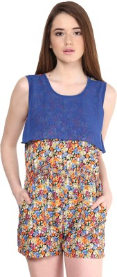 Athena Printed Women's Jumpsuit at flipkart