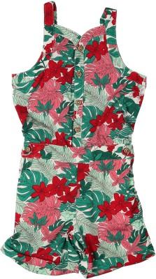 Allen Solly Printed Girl's Jumpsuit