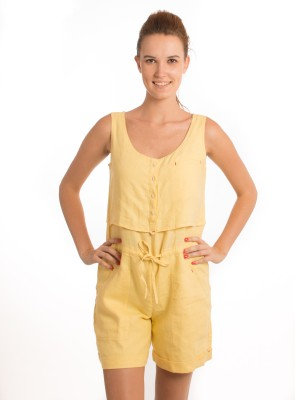 Bombay High Solid Women's Jumpsuit
