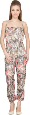 Species Floral Print Women,s Jumpsuit