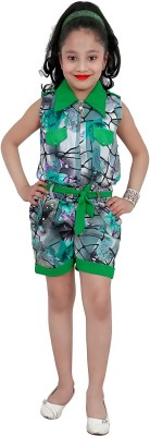 kawal fashion Striped Girl's Jumpsuit