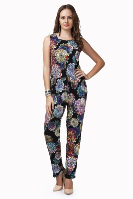 Glam & Luxe Printed Women's Jumpsuit