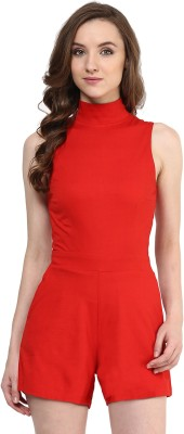 Miss Chase Solid Women's Jumpsuit