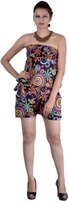 Indi Bargain Geometric Print Womens Jumpsuit