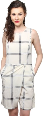 XnY Checkered Women's Jumpsuit