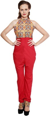 Zotw Embroidered Women's Jumpsuit