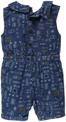 Fisher-Price Printed Girl's Jumpsuit