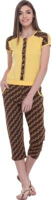 TAB91 Printed Women's Jumpsuit